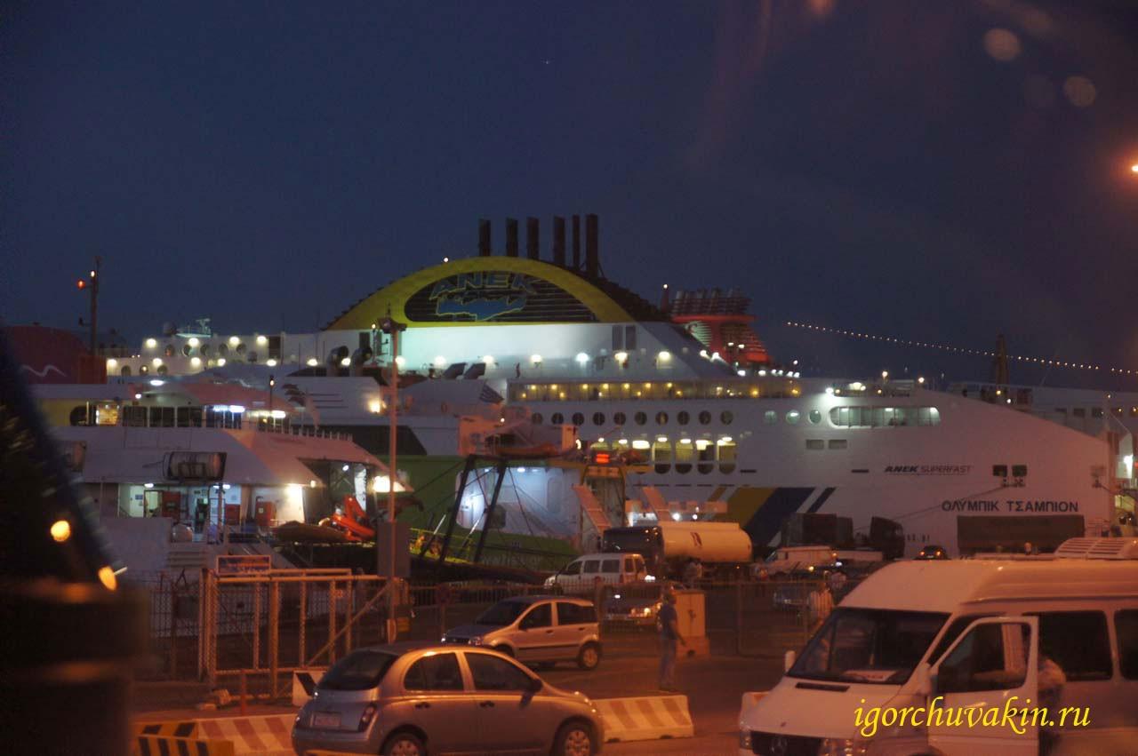 Ираклион. Морской порт, фото Игоря Чувакина