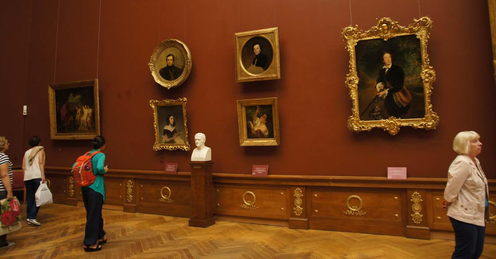 Русский музей, картины