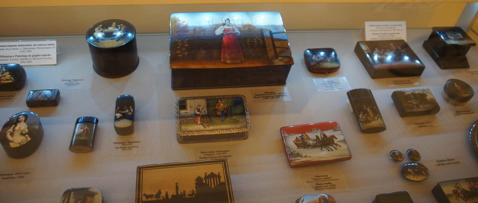 Русский музей, шкатулки