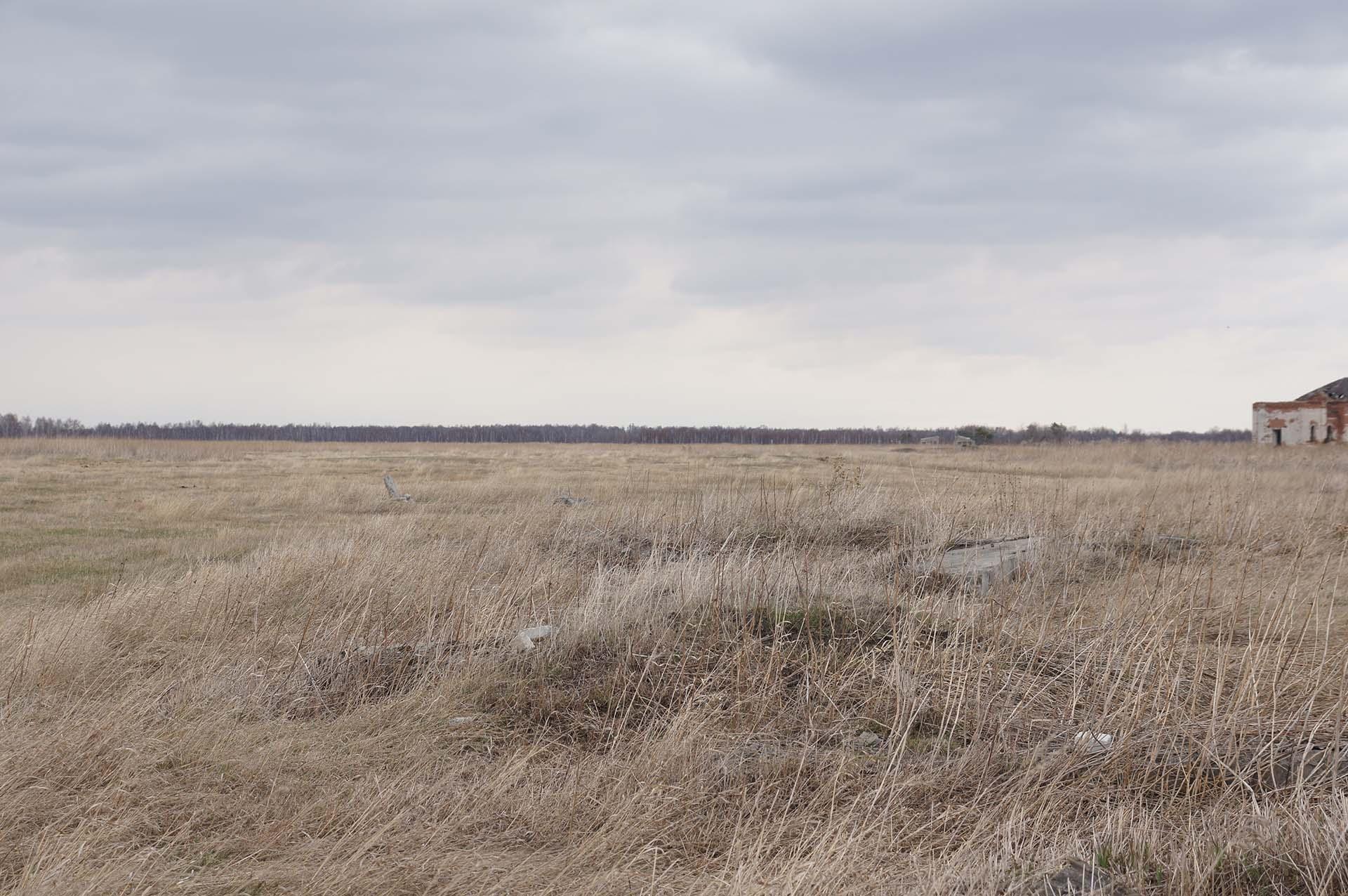 Остатки поселения на фото