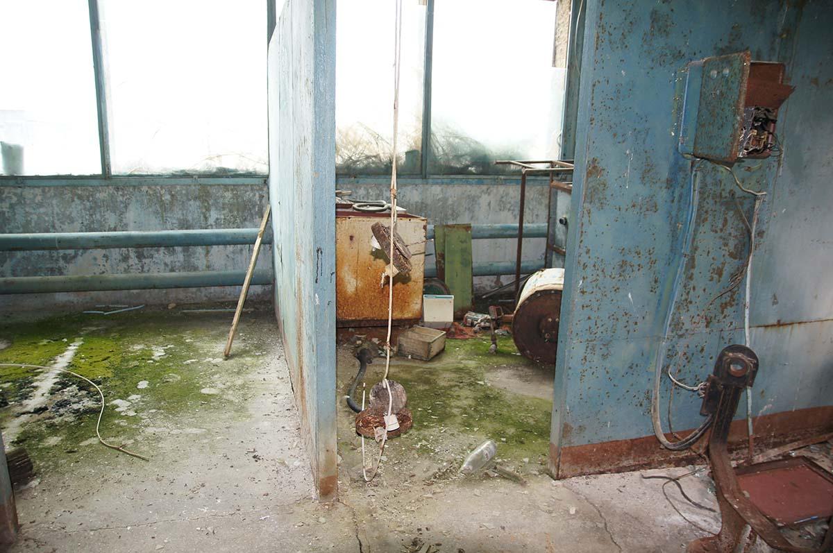Заброшка, столовая. Фото Игоря Чувакина