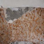 Потолок у входа