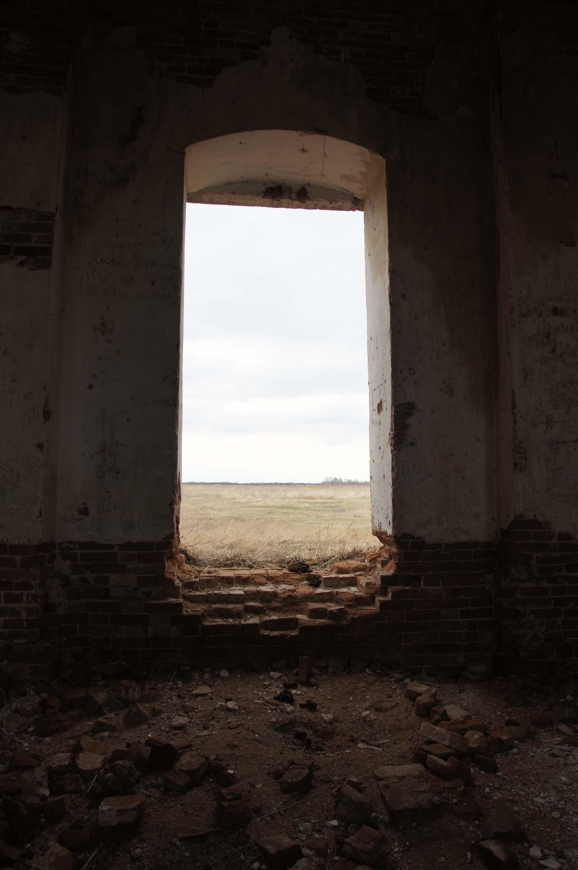 Заброшенный храм, фото Игоря Чувакина