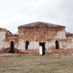 Заброшенный храм, правая сторона, общий план