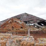 Провалившаяся крыша