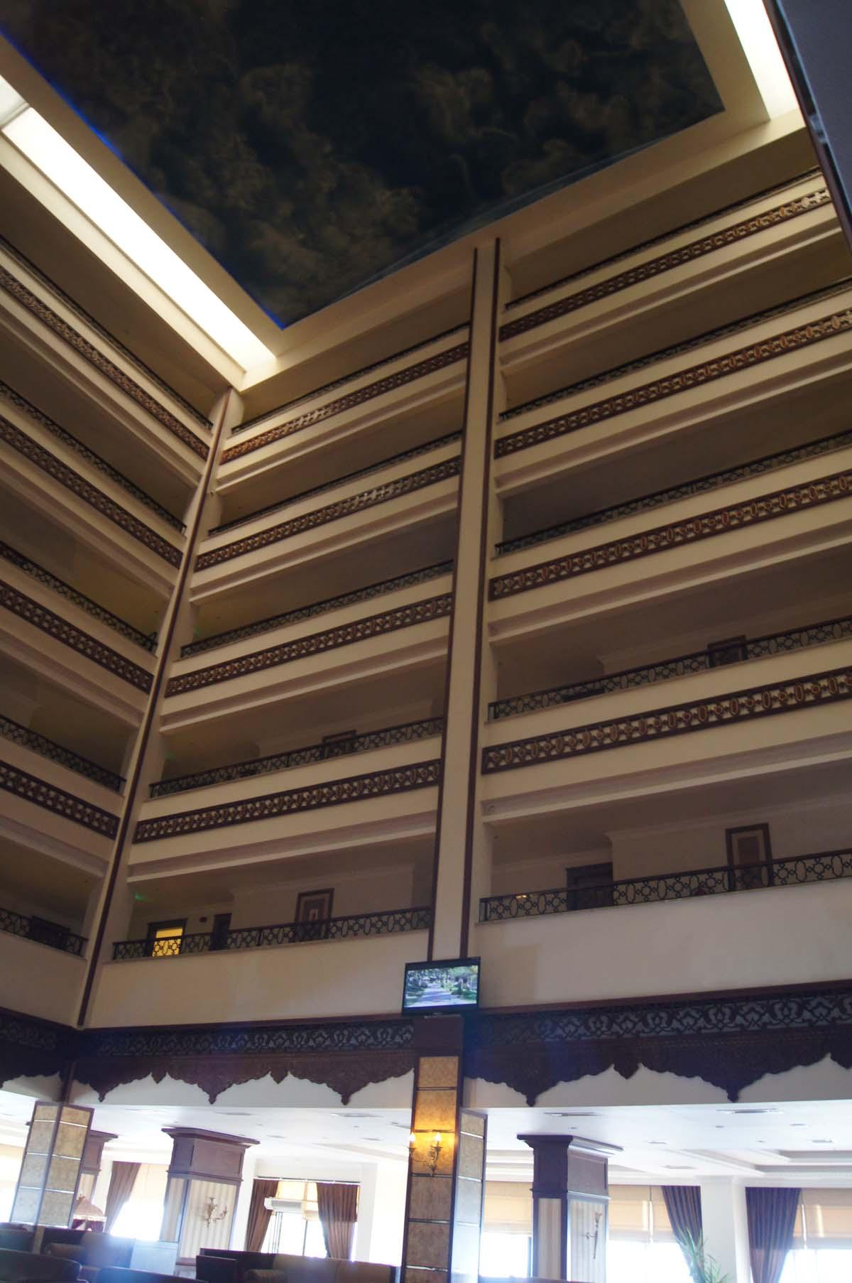 Внутри отеля. Отель Utopia World. Турция.