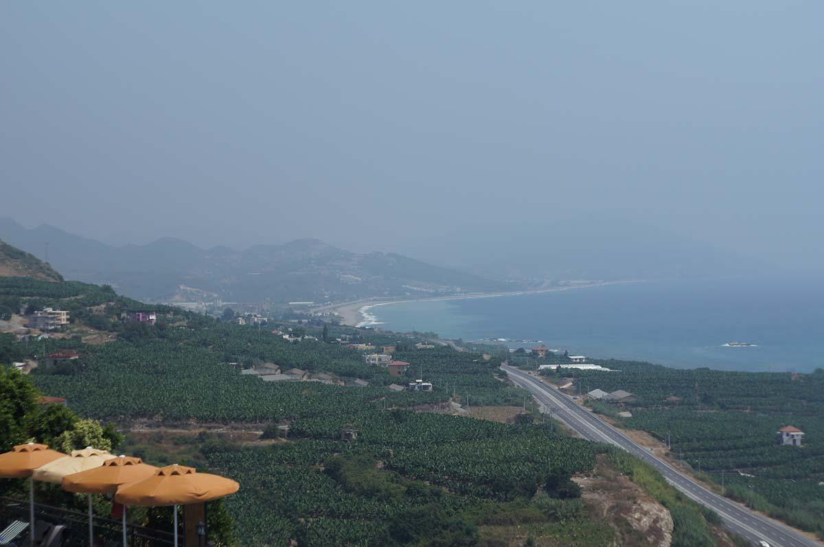 Вид слева. Отель Utopia World. Турция.