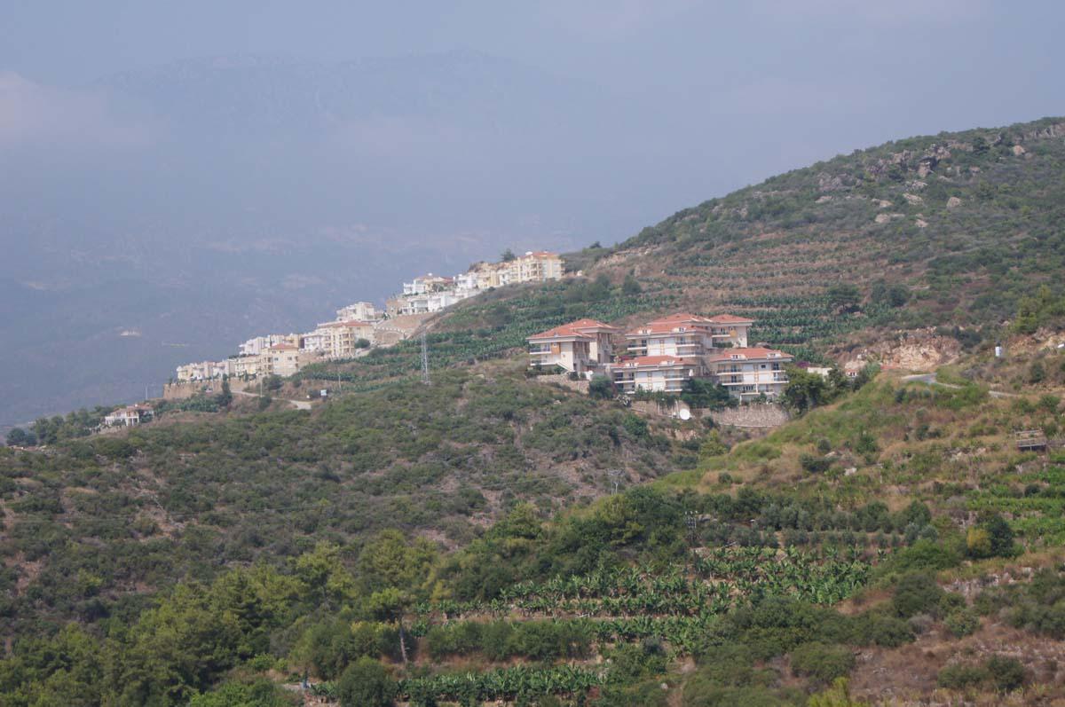 На горе. Отель Utopia World. Турция.