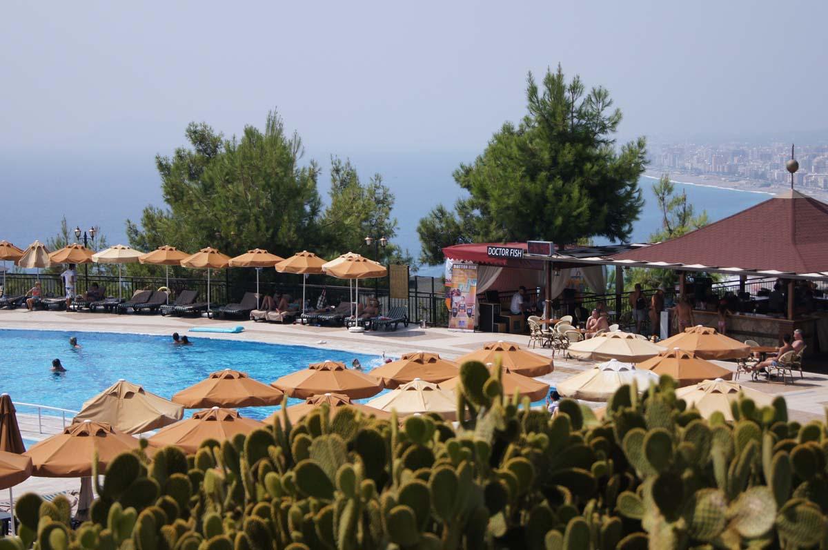 Бассейн. Отель Utopia World. Турция.