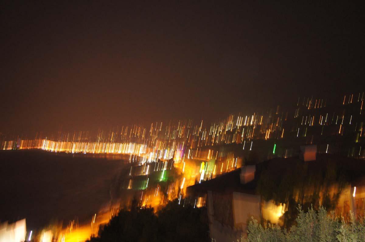 Дождь. Отель Utopia World Турция.