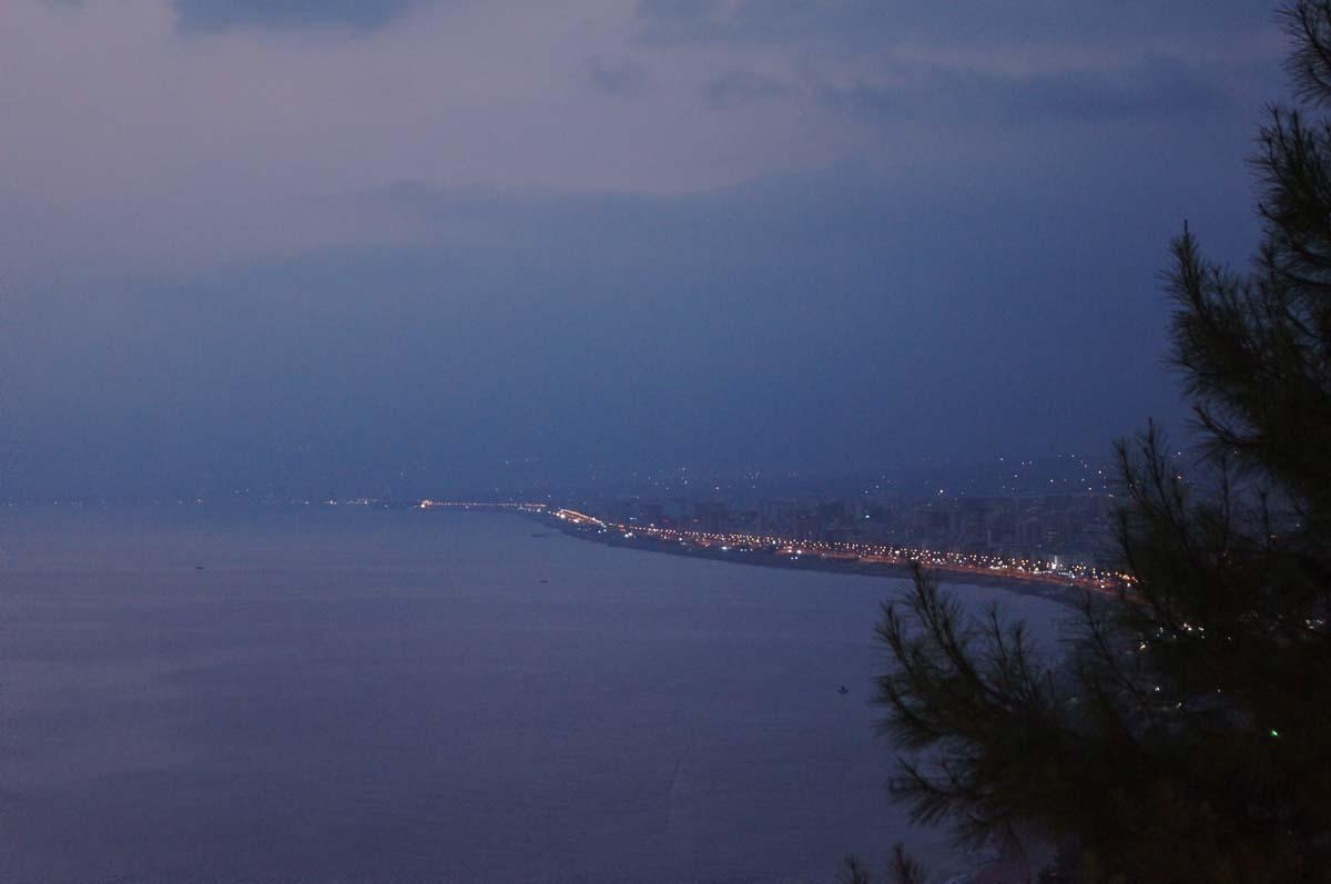 Вид на море. Отель Utopia World Турция.