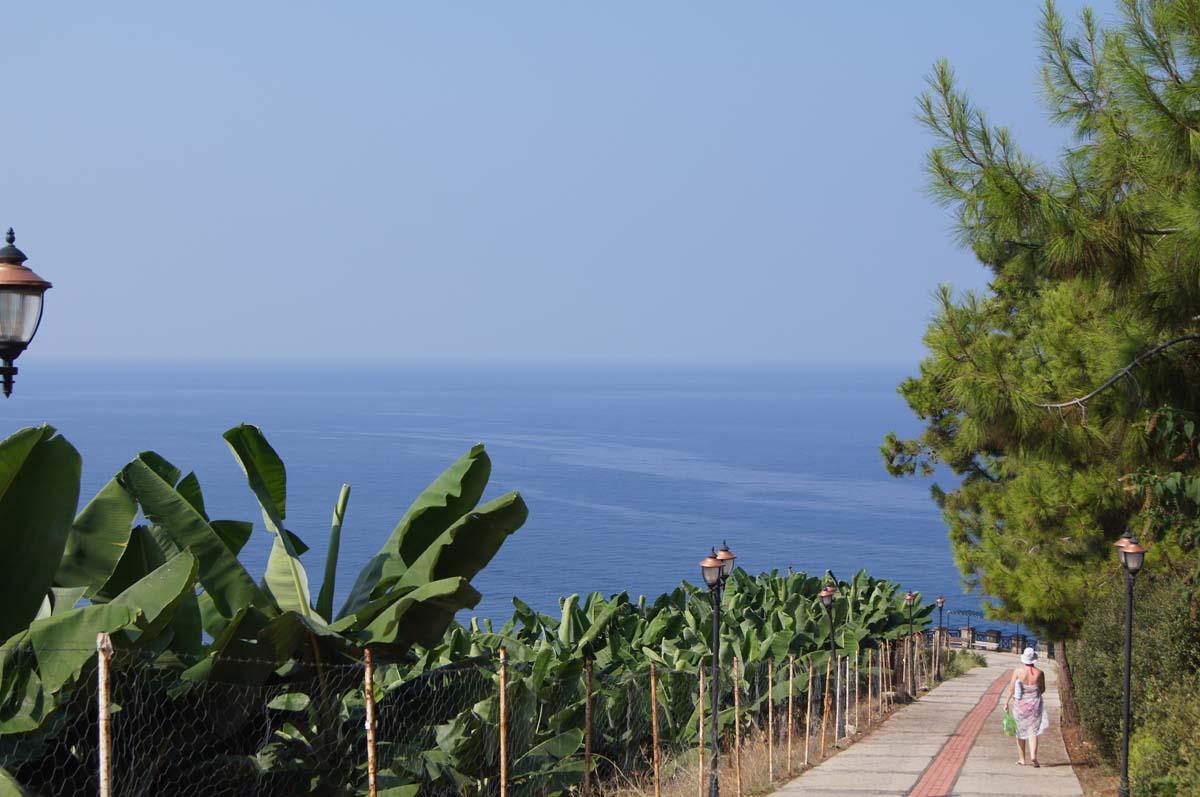 Дорожка на пляж. Отель Utopia World. Турция.