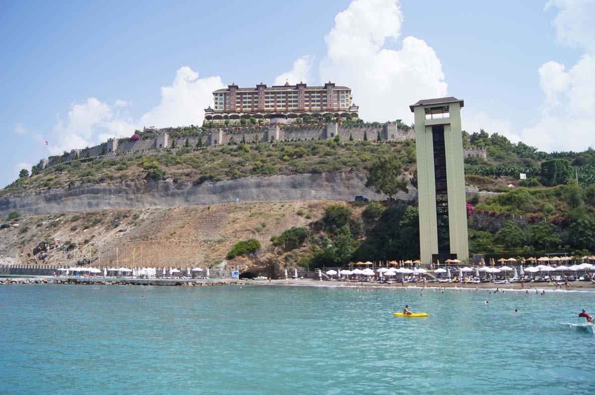 Неприступность. Отель Utopia World. Турция.