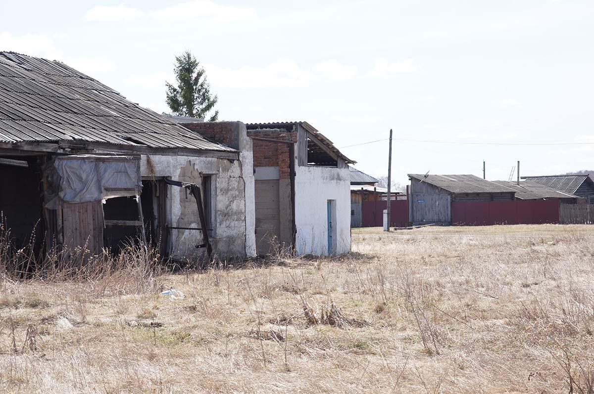 Гараж?. Колхозные постройки. Заброшка СССР.