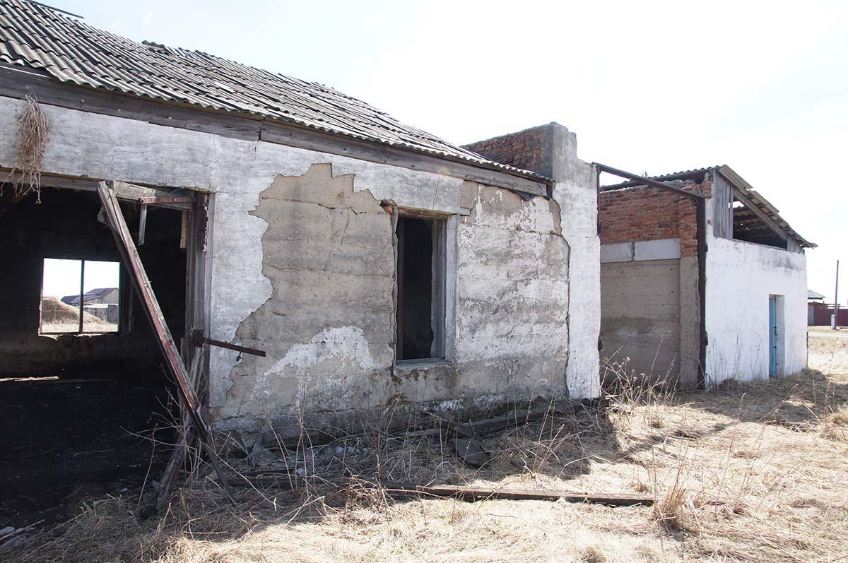 Блоки. Колхозные постройки. Заброшка СССР.