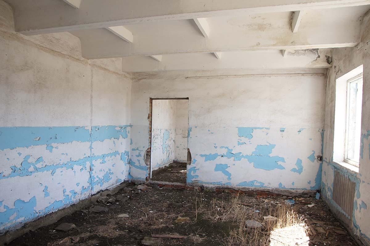 Комната. Колхозные постройки. Заброшка СССР.