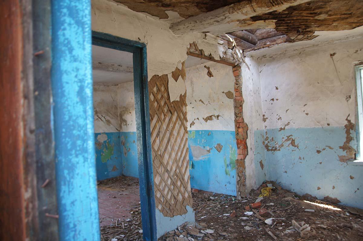 Вторая комната в конторе. Заброшка СССР, Тюменская область.