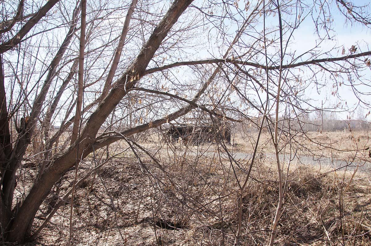 Домик поблизости, заброшка, Тюменская область