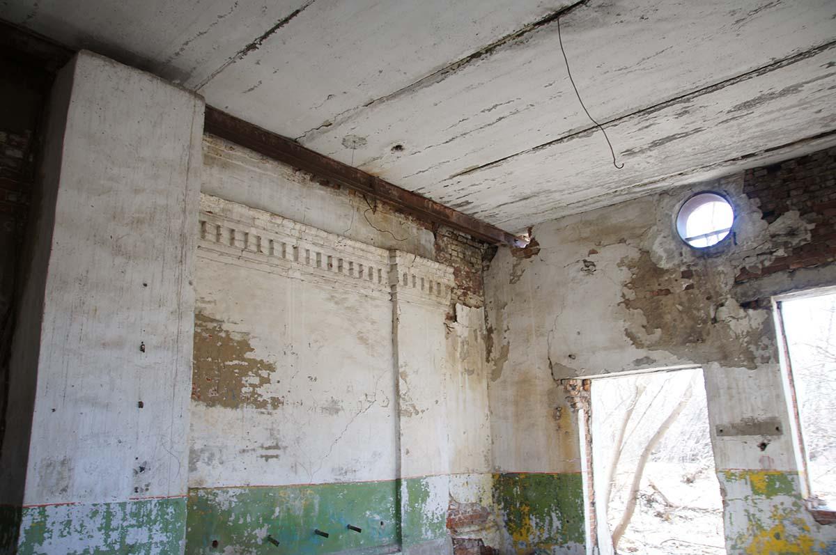 Потолок, заброшка, Тюменская область