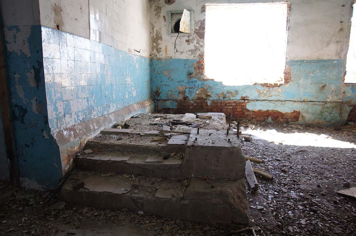 Большой фундамент, заброшка, Тюменская область