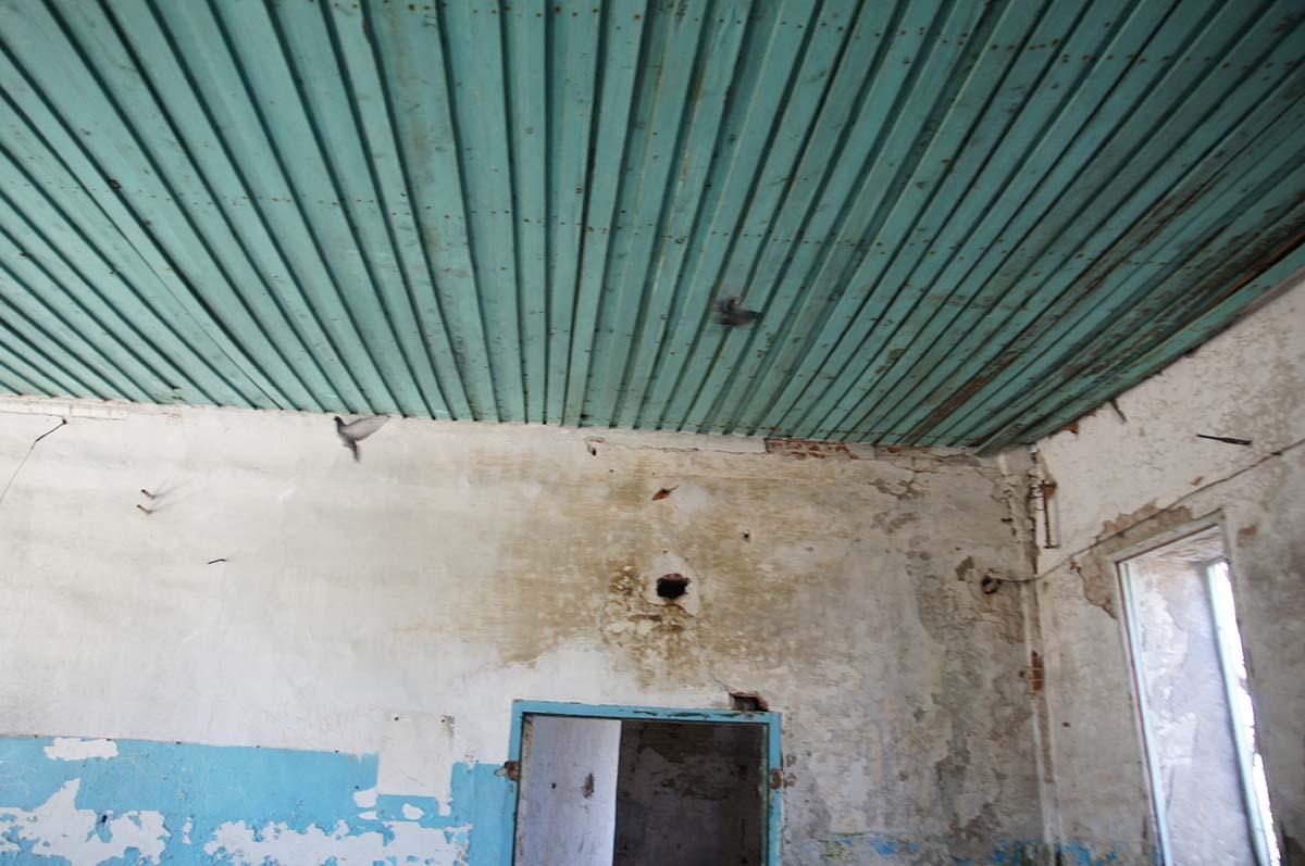 Голуби, заброшка, Тюменская область