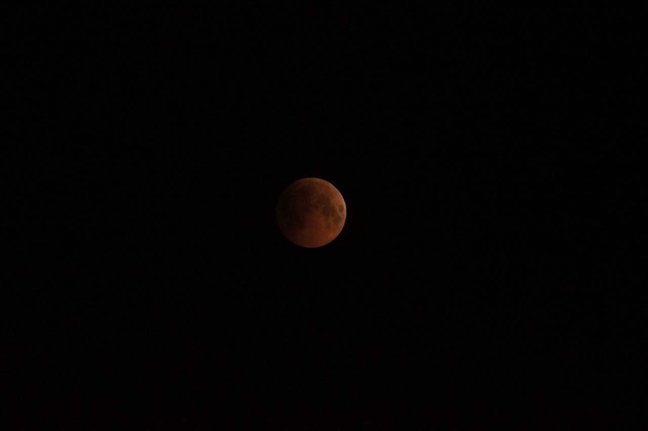 Полное лунное затмение 27.07.2018