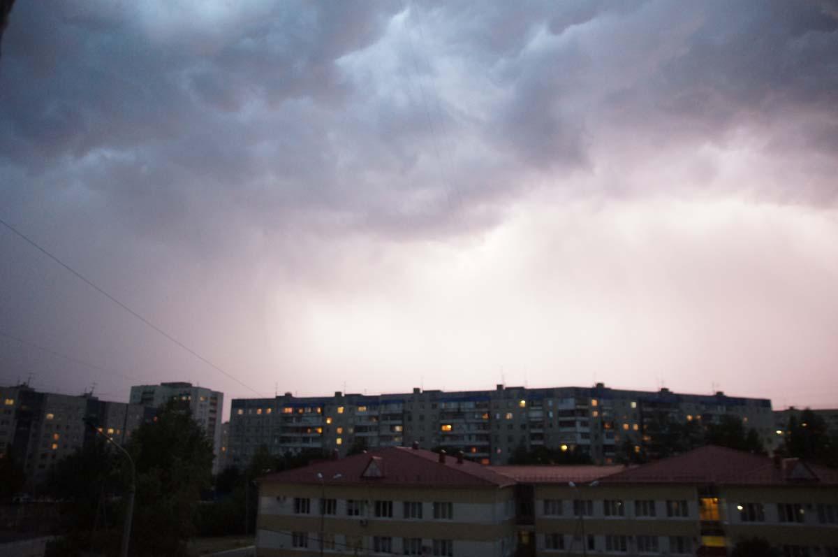 Зарево. Фото Игоря Чувакина