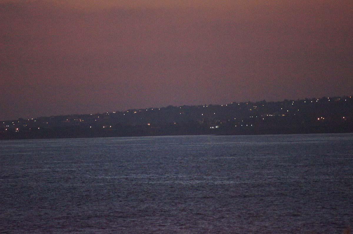 Закат и море. Отель St. George. Paphos.