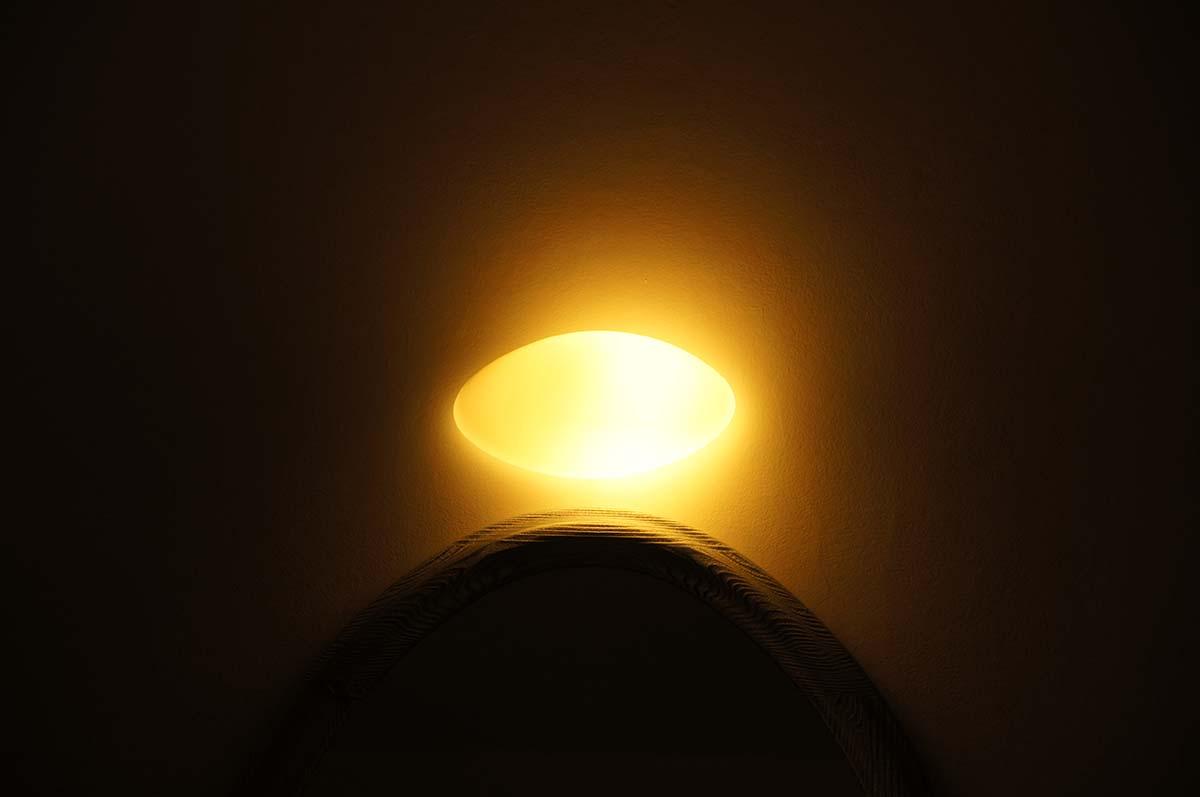 Та самая лампа. Отель St. George. Paphos.