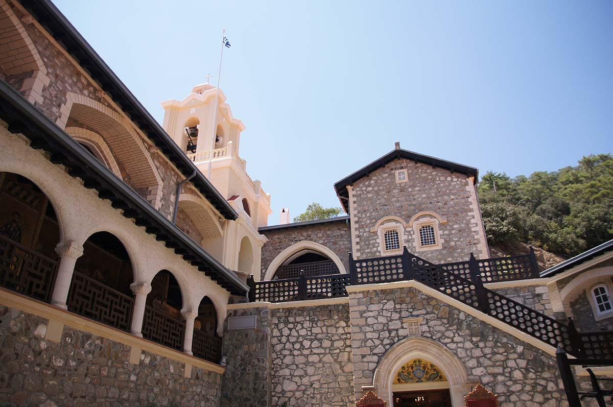 Внутренний двор. Киккос, Кипр, Киккос, Cyprus, Panagia tou Kykkou