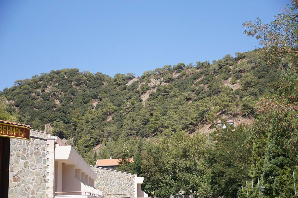 Горы и монастырь Киккос, Кипр, Киккос, Cyprus, Panagia tou Kykkou