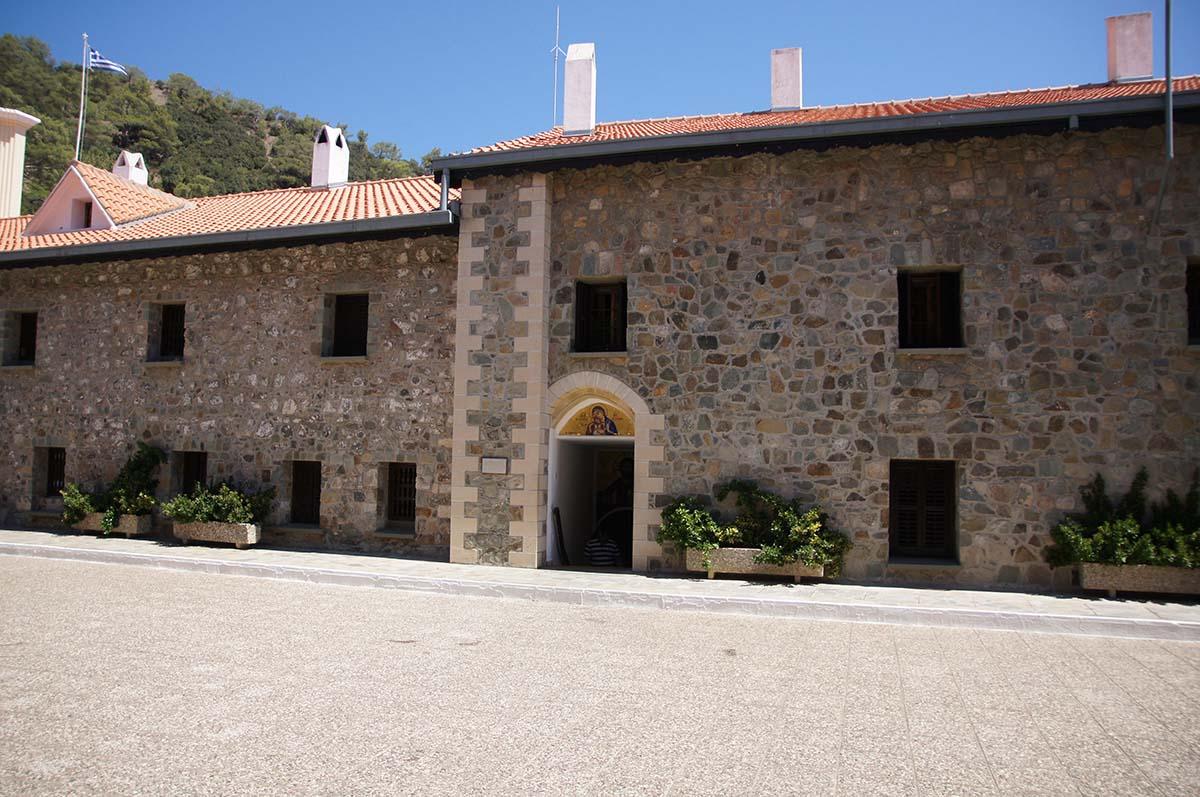Первый вход в монастырь, Кипр, Киккос, Cyprus, Panagia tou Kykkou