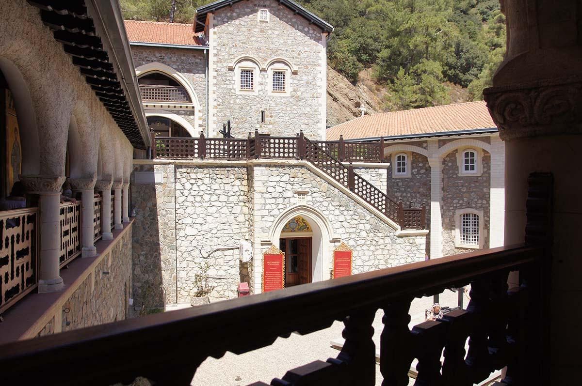 Вид с террасы, Кипр, Киккос, Cyprus, Panagia tou Kykkou
