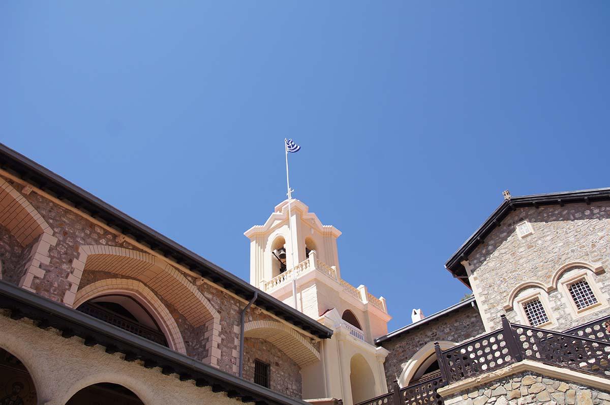 Белая часовня. Киккос, Кипр, Киккос, Cyprus, Panagia tou Kykkou