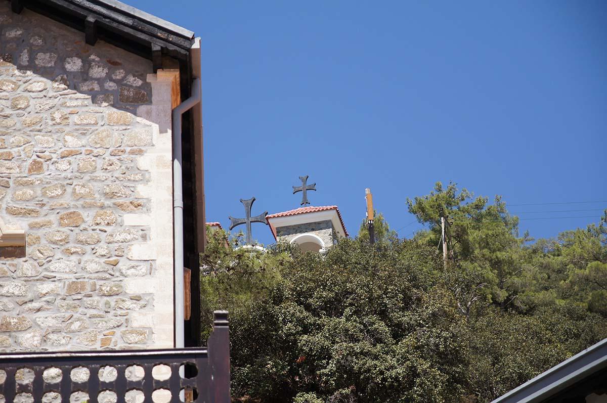 Часовня за деревом, Кипр, Киккос, Cyprus, Panagia tou Kykkou