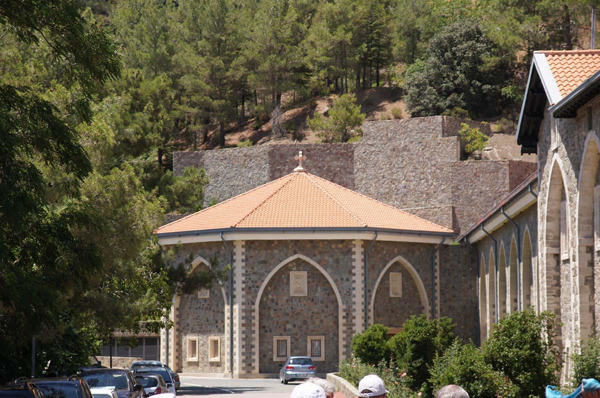 Монастырь Киккос, Кипр, Киккос, Cyprus, Panagia tou Kykkou