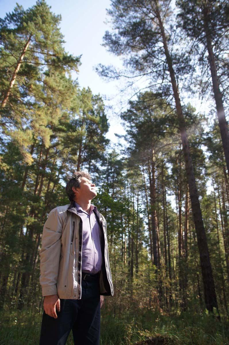 Игорь Чувакин. В лесу.