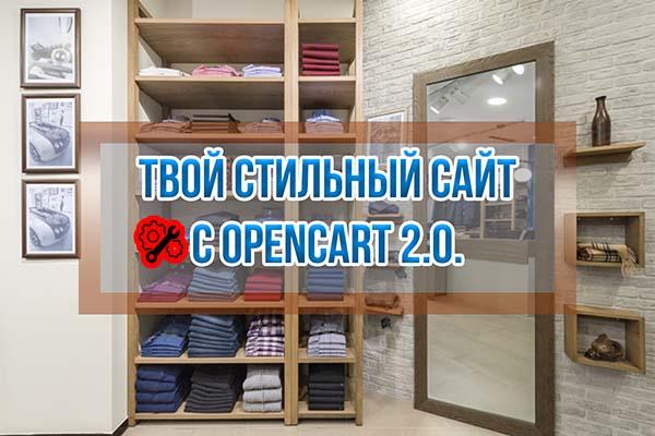 Создание Интернет-магазина на OpenCart с нуля
